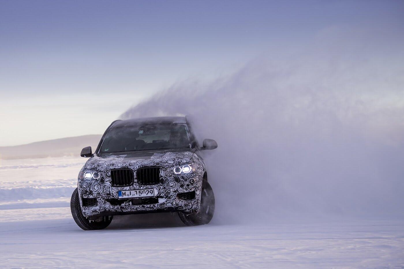 BMW X3 2018 chuẩn bị trình làng - Hình 2