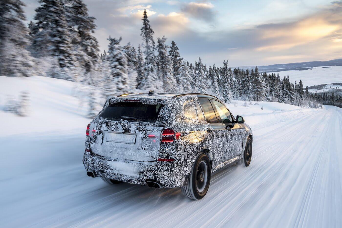 BMW X3 2018 chuẩn bị trình làng - Hình 3