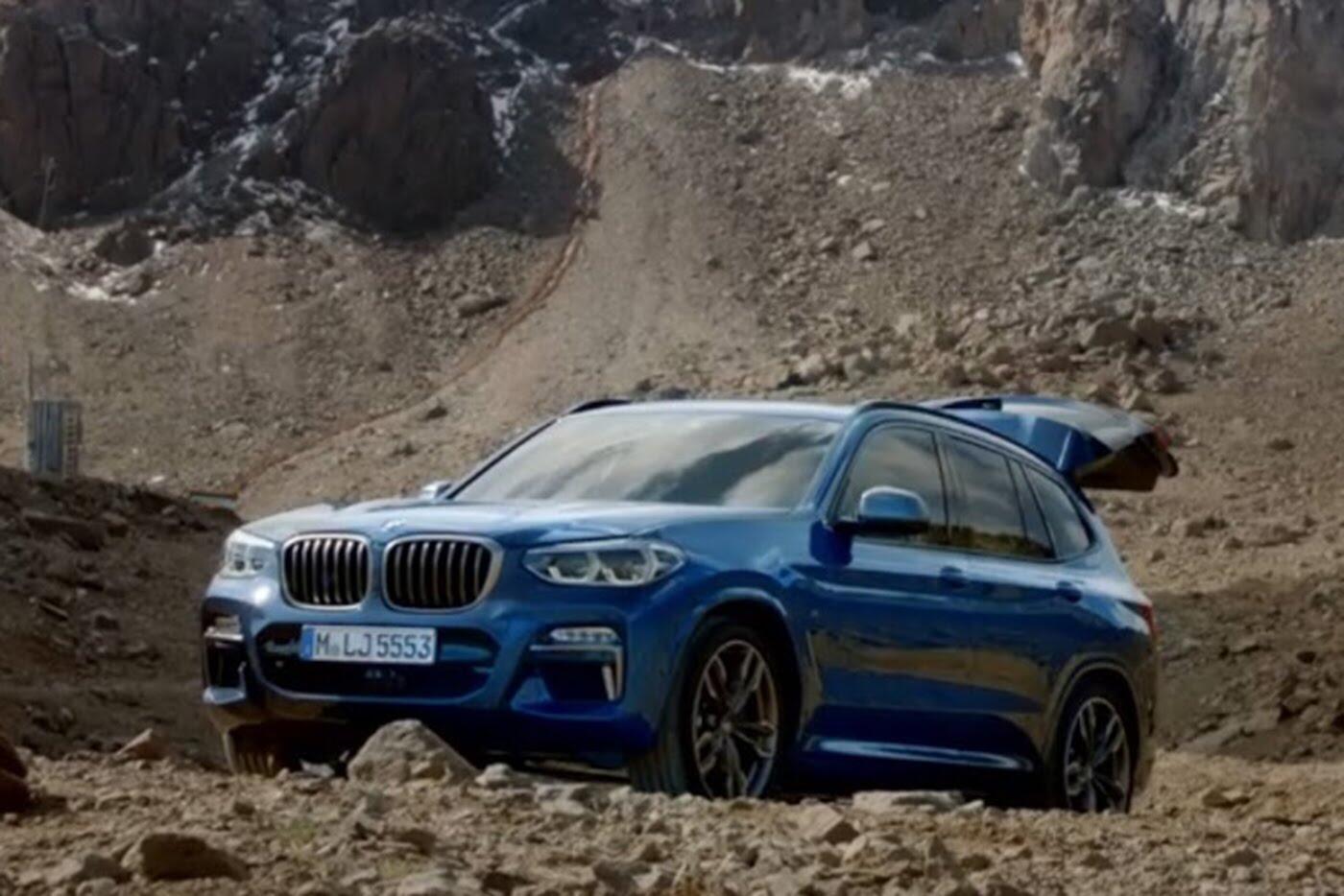 BMW X3 2018 hé lộ những hình ảnh chính thức đầu tiên - Hình 1