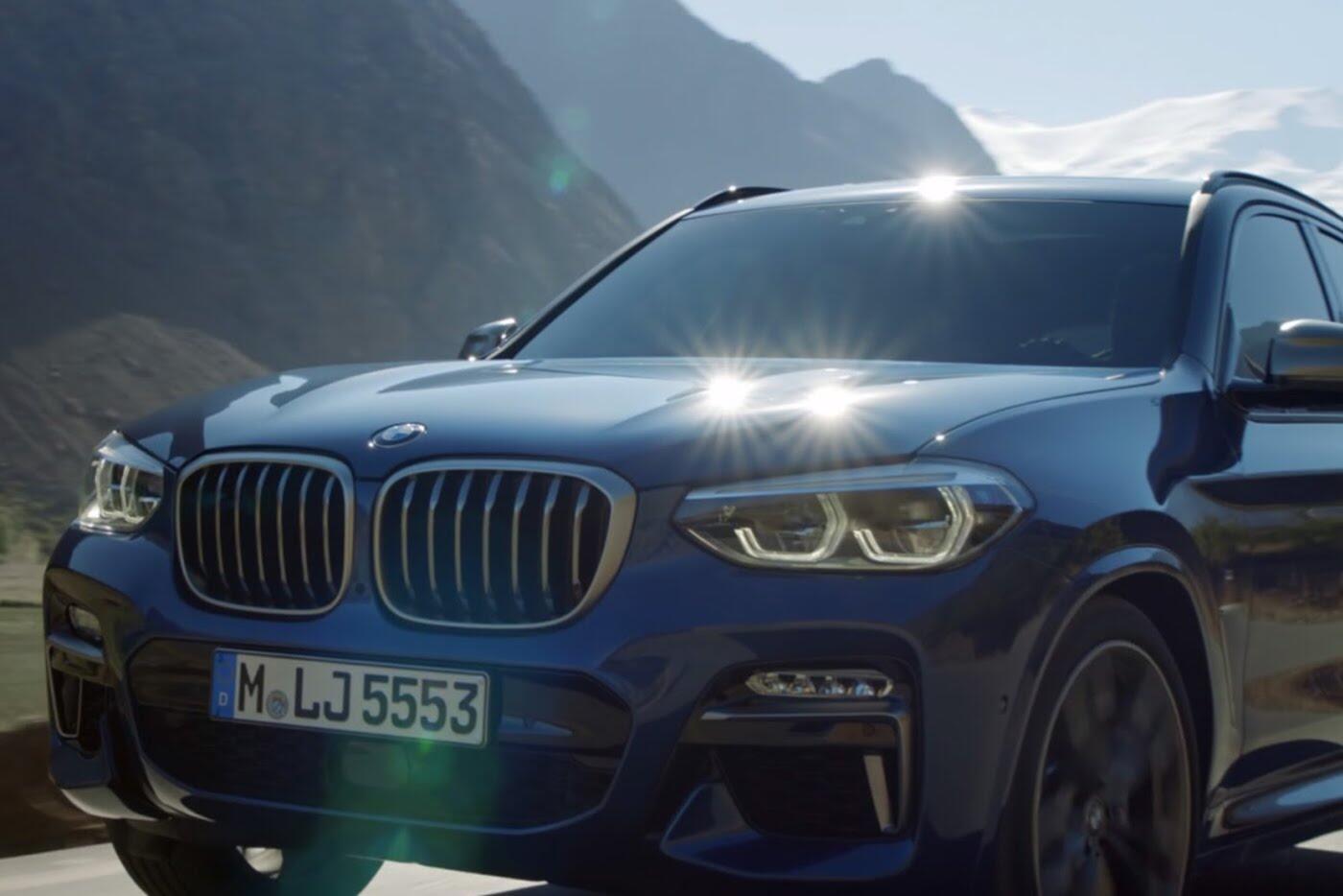 BMW X3 2018 hé lộ những hình ảnh chính thức đầu tiên - Hình 2