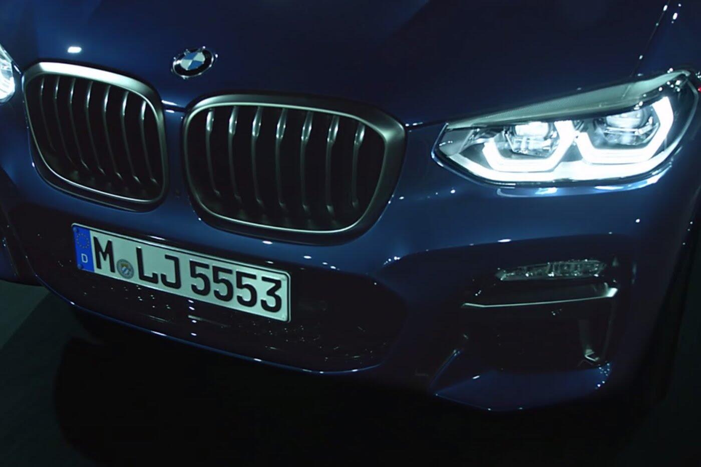 BMW X3 2018 hé lộ những hình ảnh chính thức đầu tiên - Hình 5