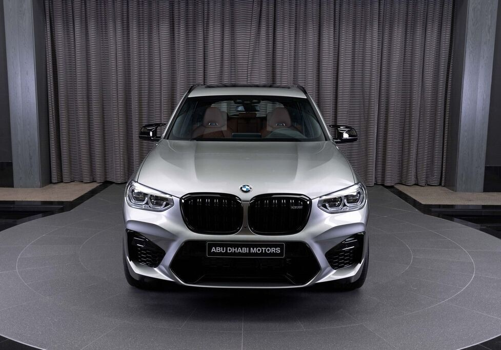 BMW X3 M Competition bóng bẩy & thanh lịch trong màu Donington Grey và nội thất Tartufo