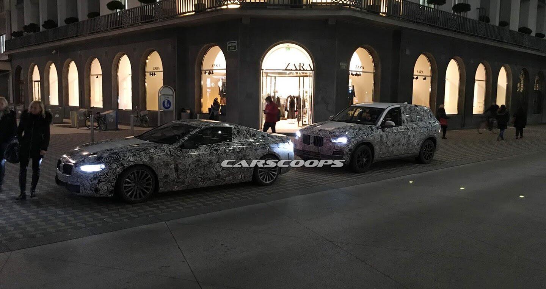 BMW X5 hoàn toàn mới và 8-Series Coupe lộ diện trên đường thử - Hình 2