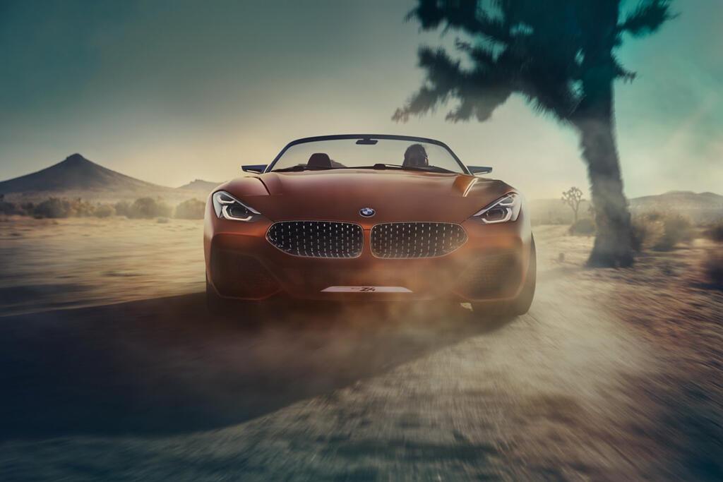 BMW Z4 2019 vừa lộ diện đã thu hút chú ý vì quá đẹp - Hình 1