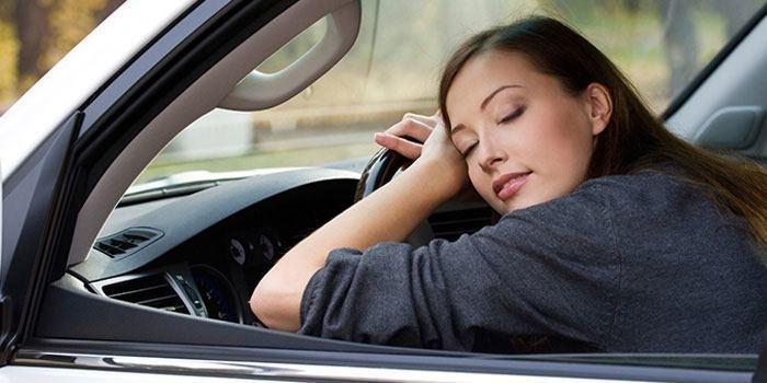 Buồn ngủ khi lái xe