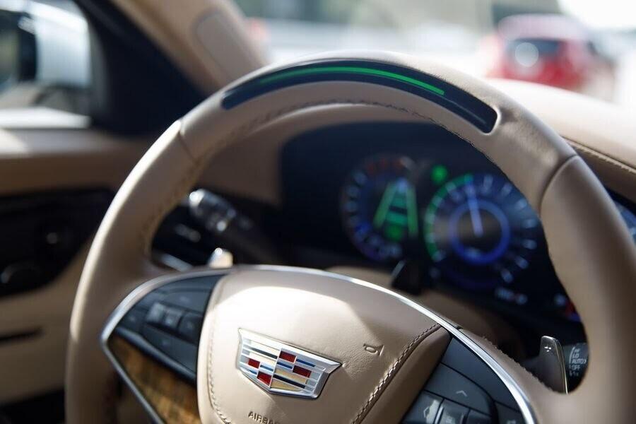 Cadillac CT6 2018 bổ sung công nghệ lái bán tự động Super Cruise - Hình 4