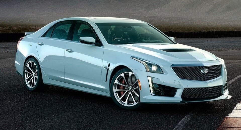 Cadillac giới thiệu CTS-V phiên bản kỷ niệm 115 năm - Hình 1