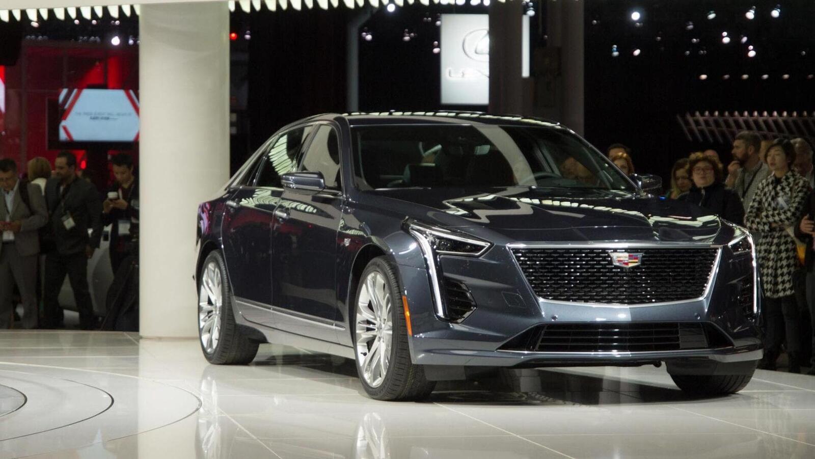 Cadillac mang CT6 V-Sport 2019 đến triển lãm ô tô New York 2018 - Hình 2