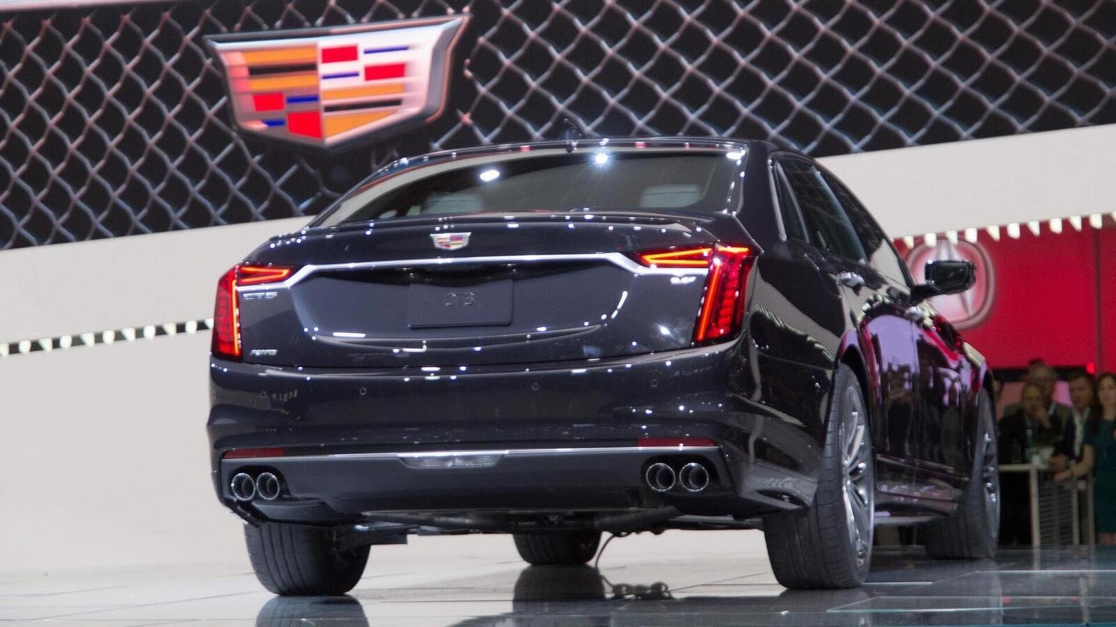 Cadillac mang CT6 V-Sport 2019 đến triển lãm ô tô New York 2018 - Hình 4