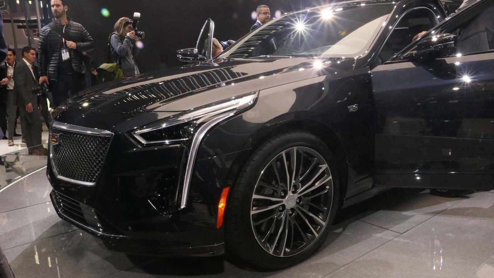 Cadillac mang CT6 V-Sport 2019 đến triển lãm ô tô New York 2018 - Hình 5
