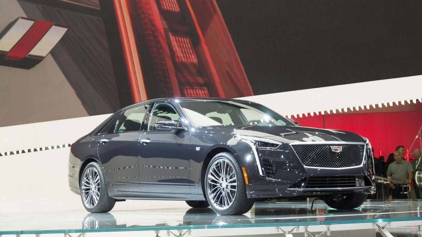 Cadillac mang CT6 V-Sport 2019 đến triển lãm ô tô New York 2018 - Hình 12