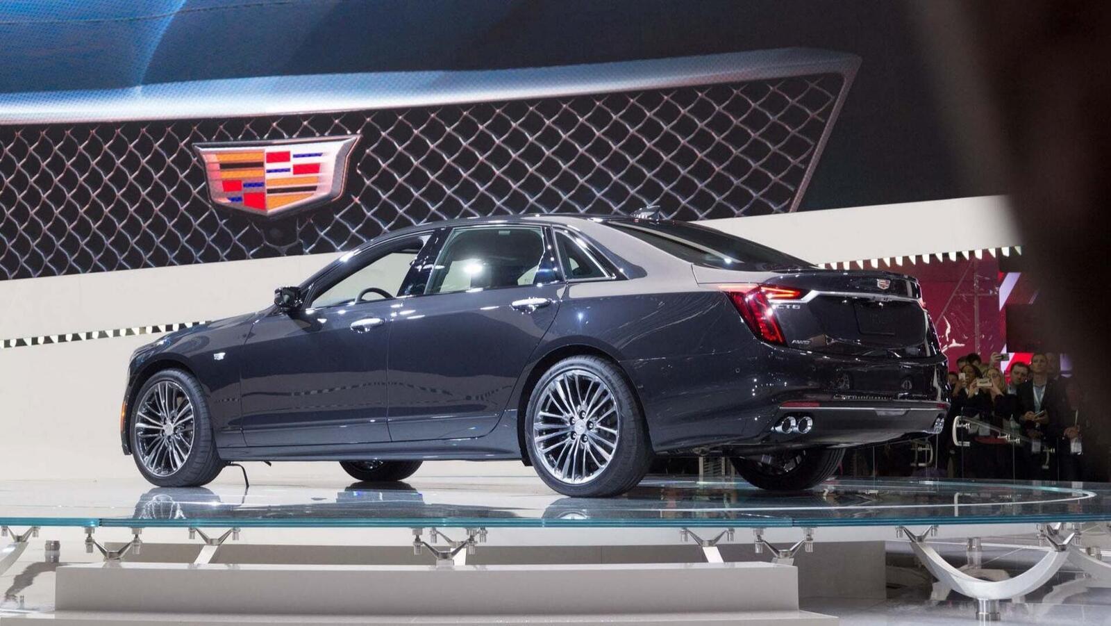 Cadillac mang CT6 V-Sport 2019 đến triển lãm ô tô New York 2018 - Hình 15