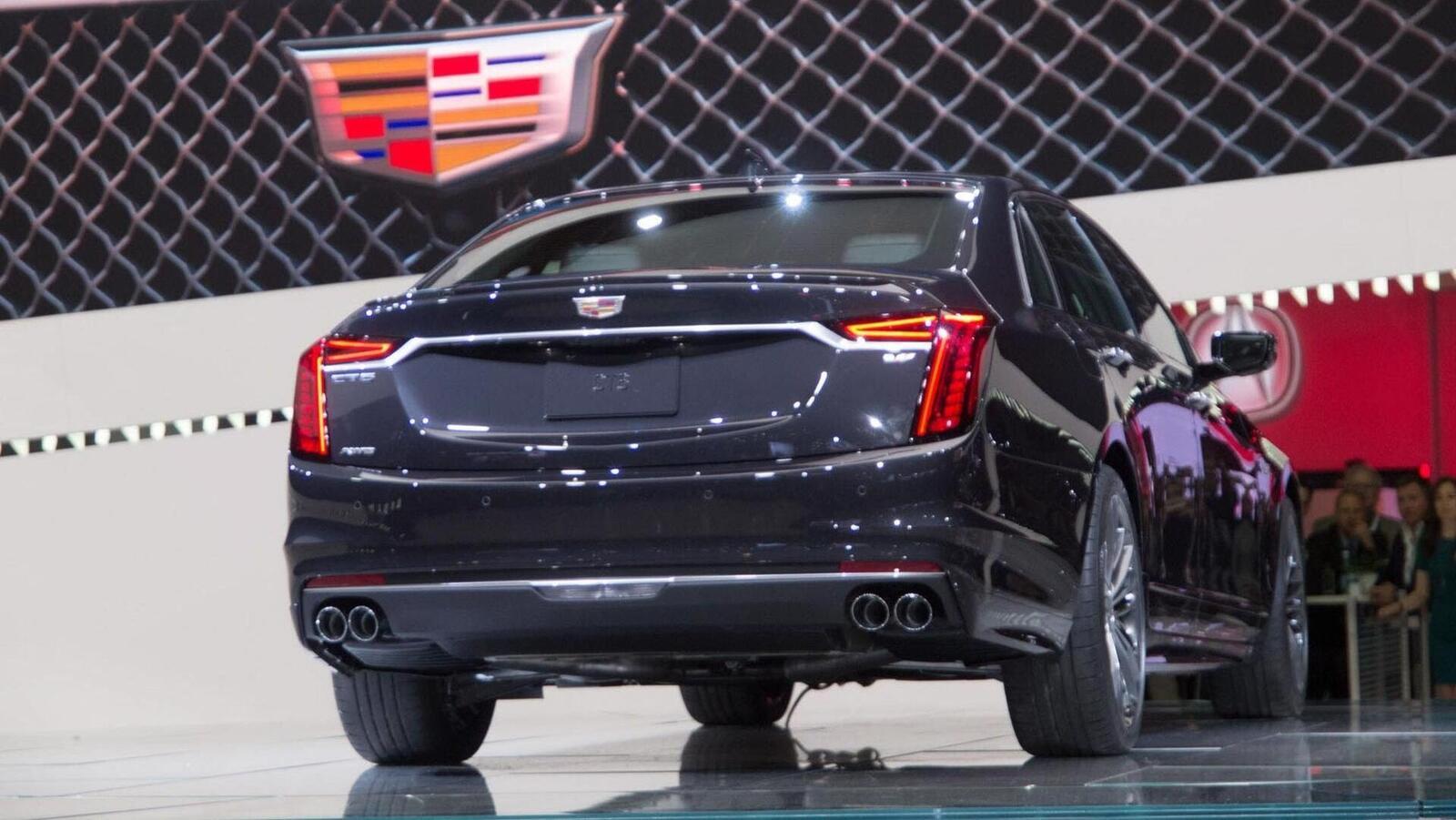 Cadillac mang CT6 V-Sport 2019 đến triển lãm ô tô New York 2018 - Hình 16