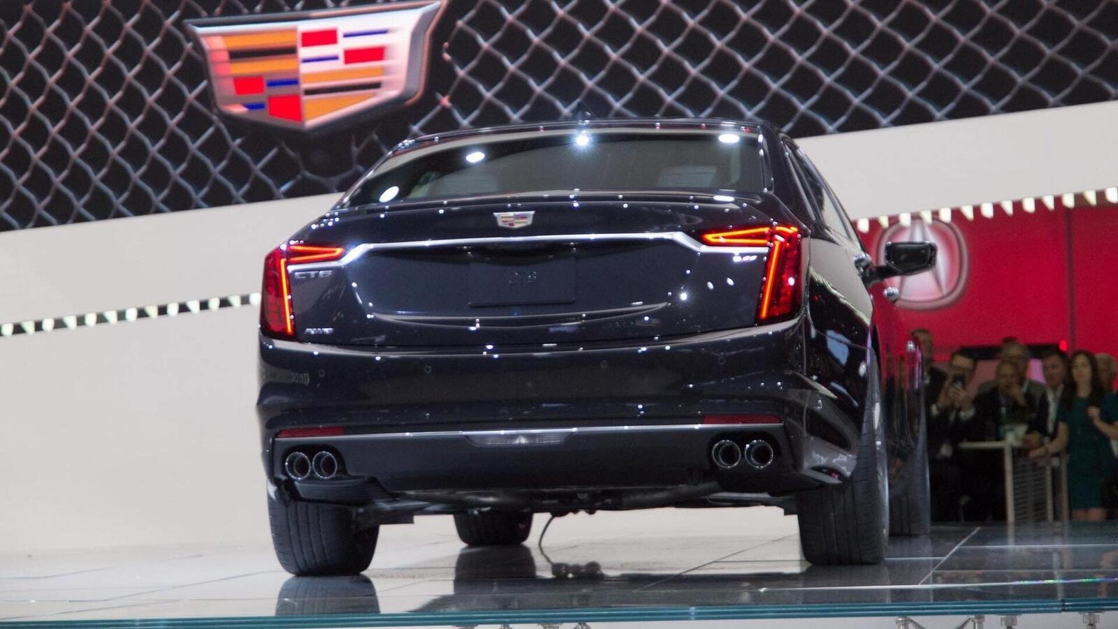 Cadillac mang CT6 V-Sport 2019 đến triển lãm ô tô New York 2018 - Hình 18