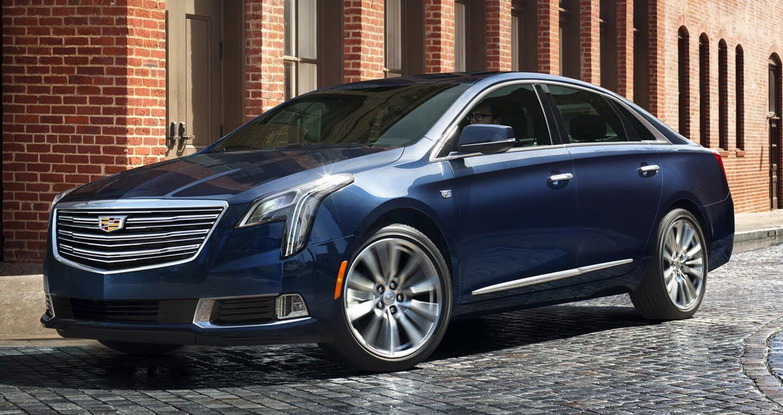 Cadillac XTS 2018 lộ diện với thiết kế hoàn toàn mới - Hình 1