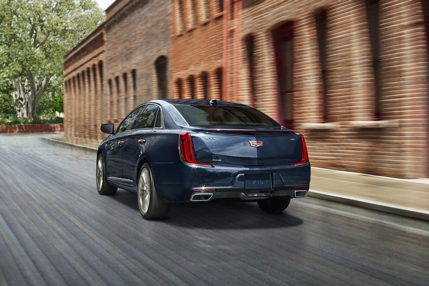 Cadillac XTS 2018 lộ diện với thiết kế hoàn toàn mới - Hình 3
