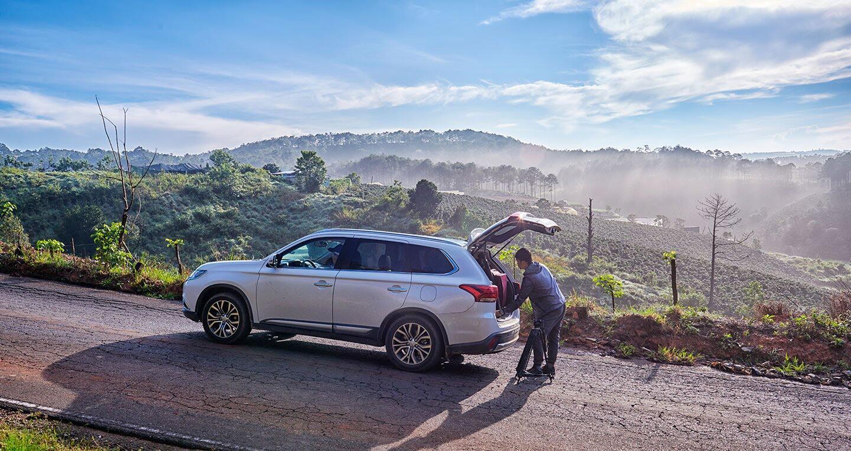 """Cầm lái Mitsubishi Outlander """"từ phố lên rừng"""" (P.1) - Hình 3"""