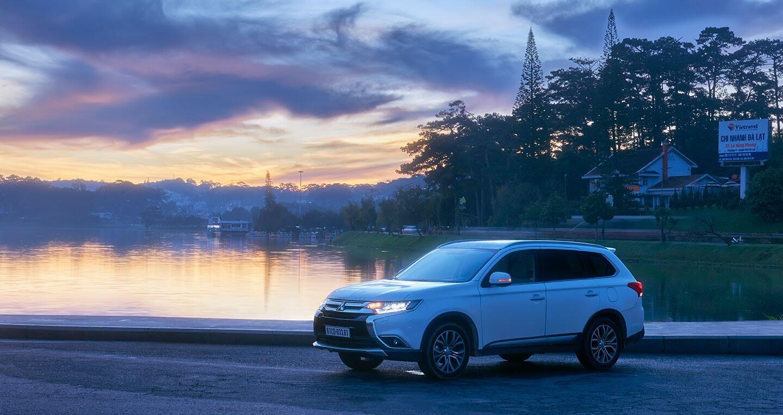"""Cầm lái Mitsubishi Outlander """"từ phố lên rừng"""" (P.1) - Hình 5"""