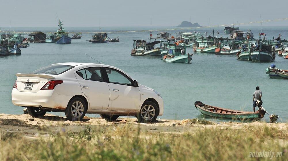 Cầm lái Nissan Sunny qua hành trình 1.000km - Hình 1