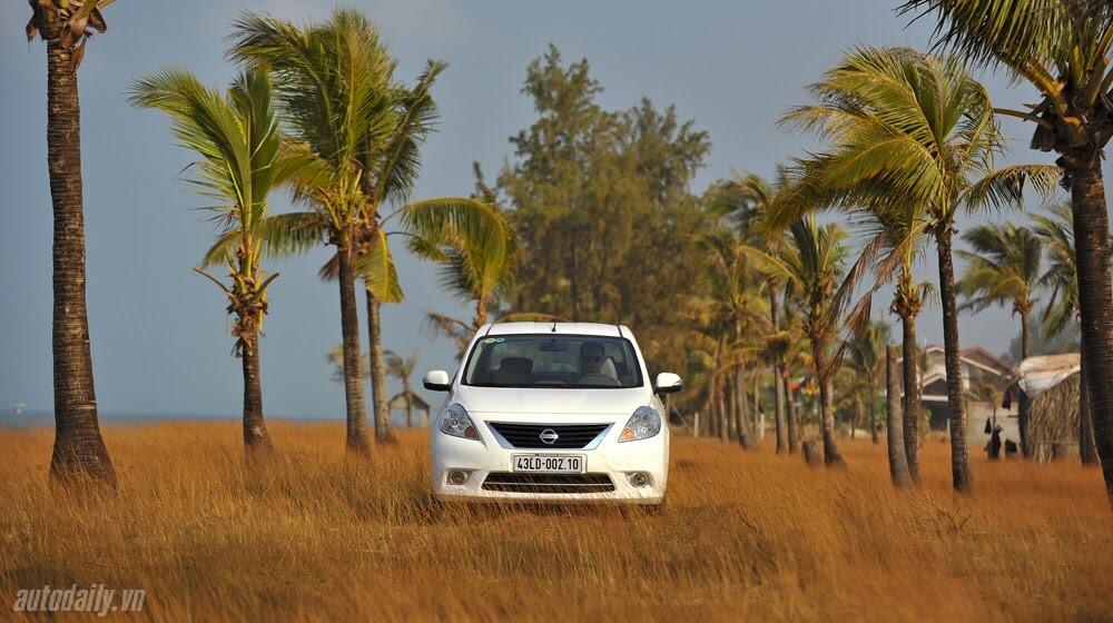 Cầm lái Nissan Sunny qua hành trình 1.000km - Hình 3