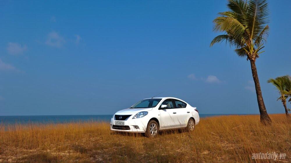 Cầm lái Nissan Sunny qua hành trình 1.000km - Hình 5