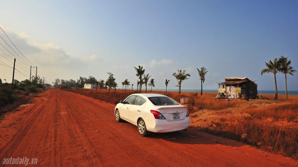 Cầm lái Nissan Sunny qua hành trình 1.000km - Hình 8