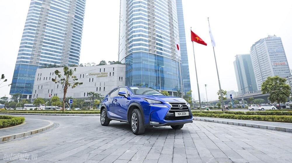 Cầm lái SUV hạng sang Lexus NX200t qua 1.200km - Hình 1