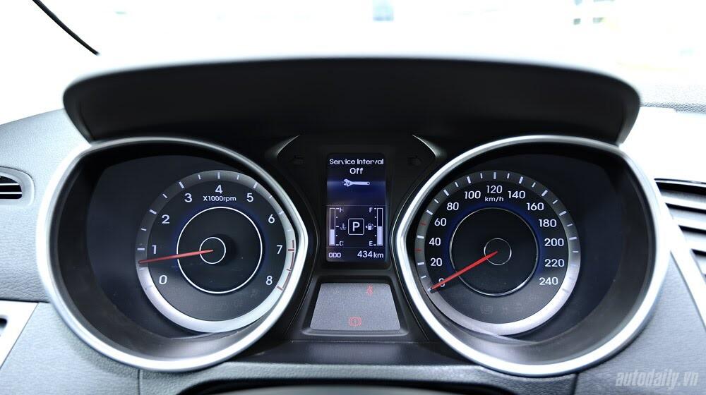 Cảm nhận Hyundai Elantra 2014 - Hình 18