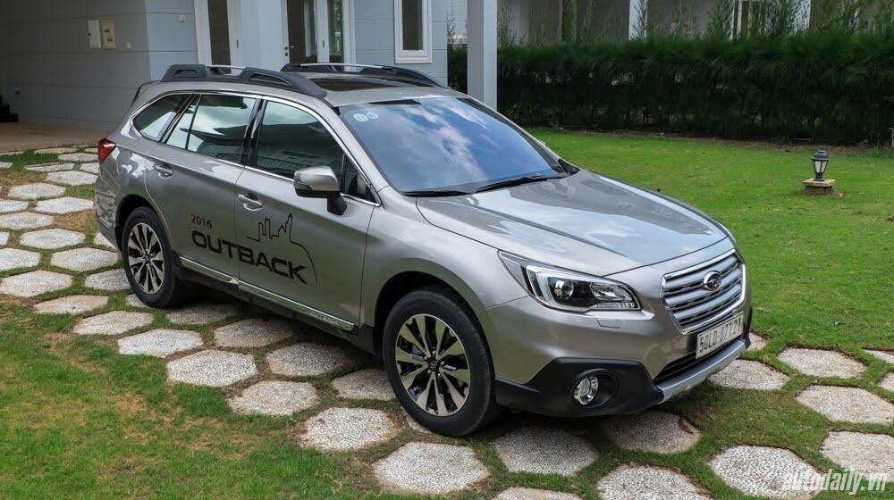 Cảm nhận Subaru Outback 2016 - Một chiếc xe khác biệt - Hình 1