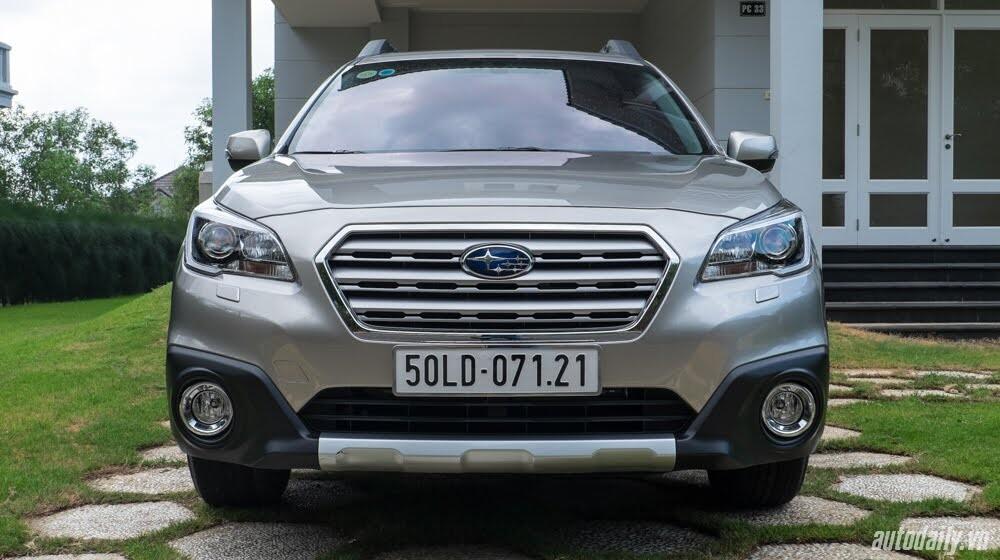 Cảm nhận Subaru Outback 2016 - Một chiếc xe khác biệt - Hình 2