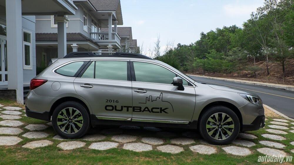 Cảm nhận Subaru Outback 2016 - Một chiếc xe khác biệt - Hình 3