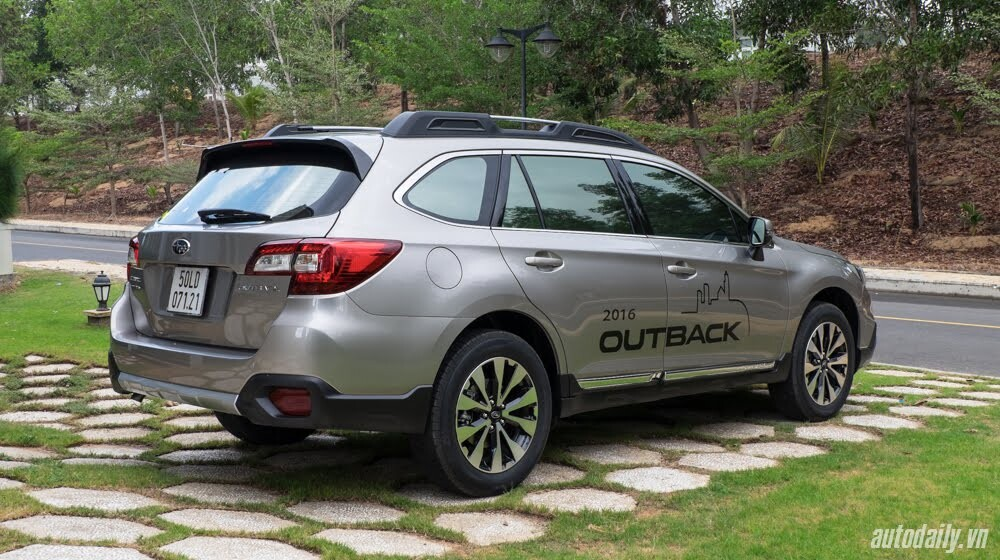 Cảm nhận Subaru Outback 2016 - Một chiếc xe khác biệt - Hình 4