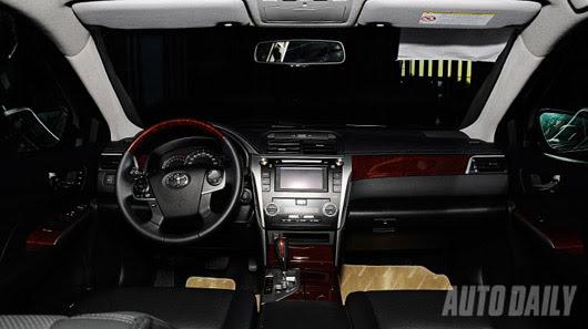 Cảm nhận thực tế Toyota Camry 2.5Q 2012 - Hình 8