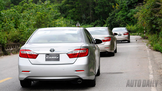 Cảm nhận thực tế Toyota Camry 2.5Q 2012 - Hình 19