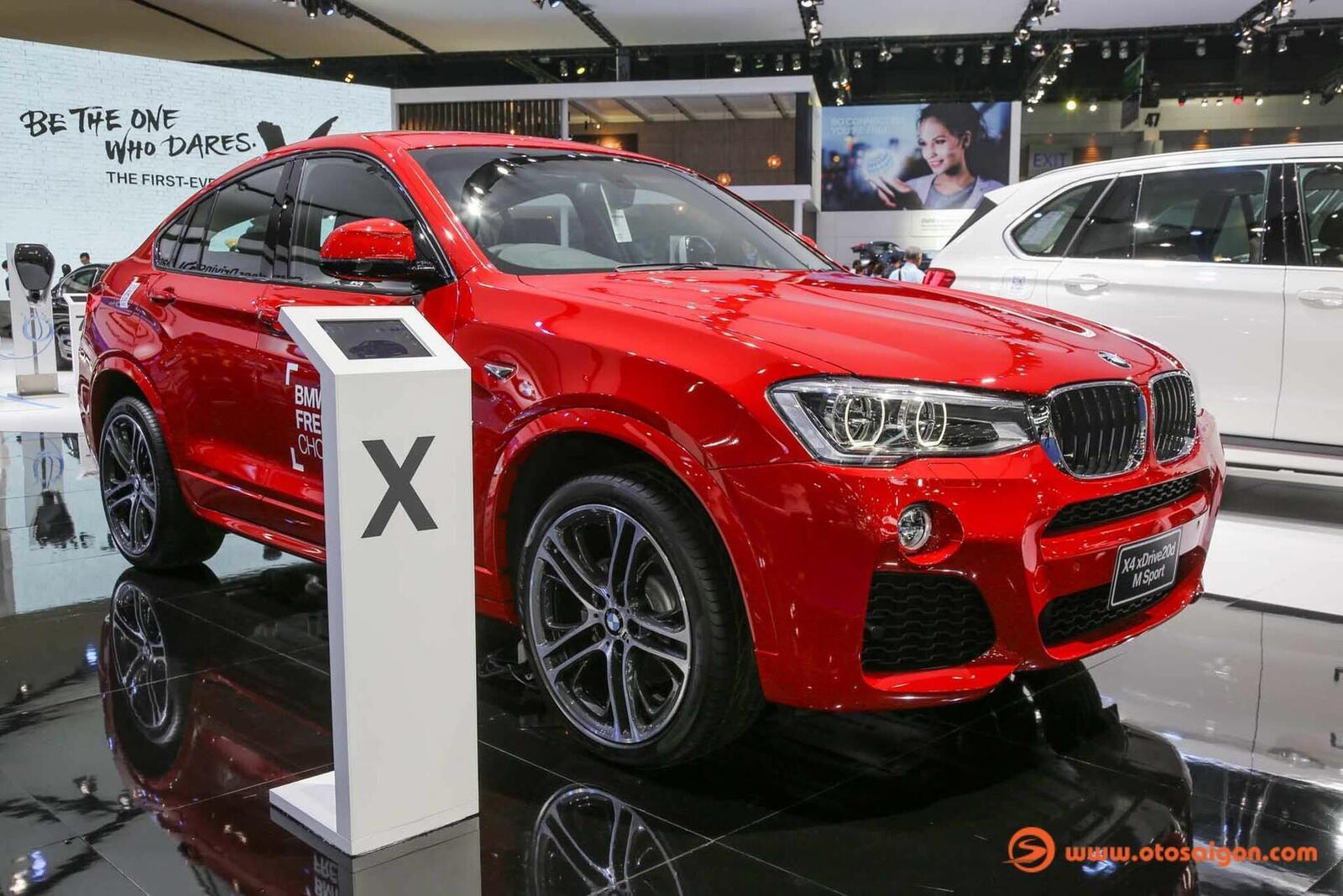 Cận cảnh BMW X4 M-Sport máy dầu 2.0L tại Bangkok - Hình 1