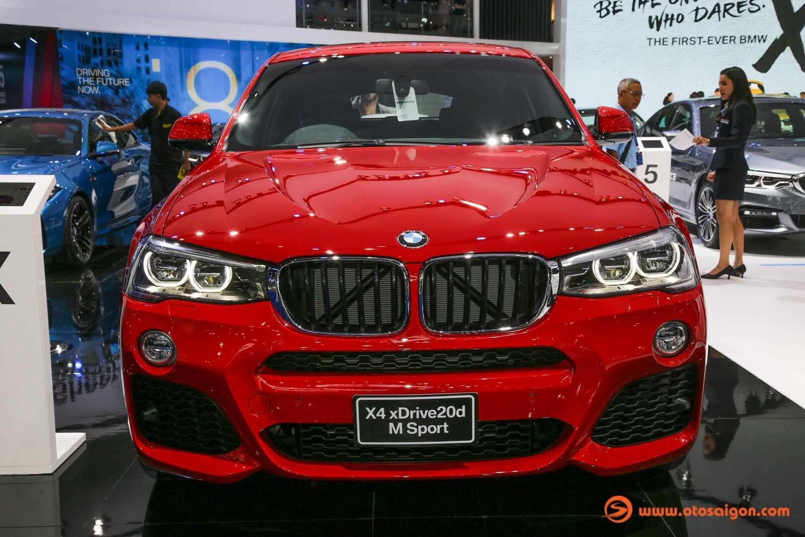 Cận cảnh BMW X4 M-Sport máy dầu 2.0L tại Bangkok - Hình 2