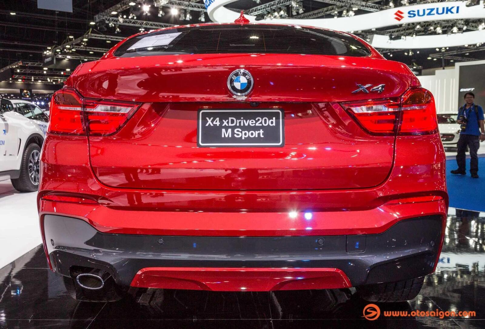 Cận cảnh BMW X4 M-Sport máy dầu 2.0L tại Bangkok - Hình 3