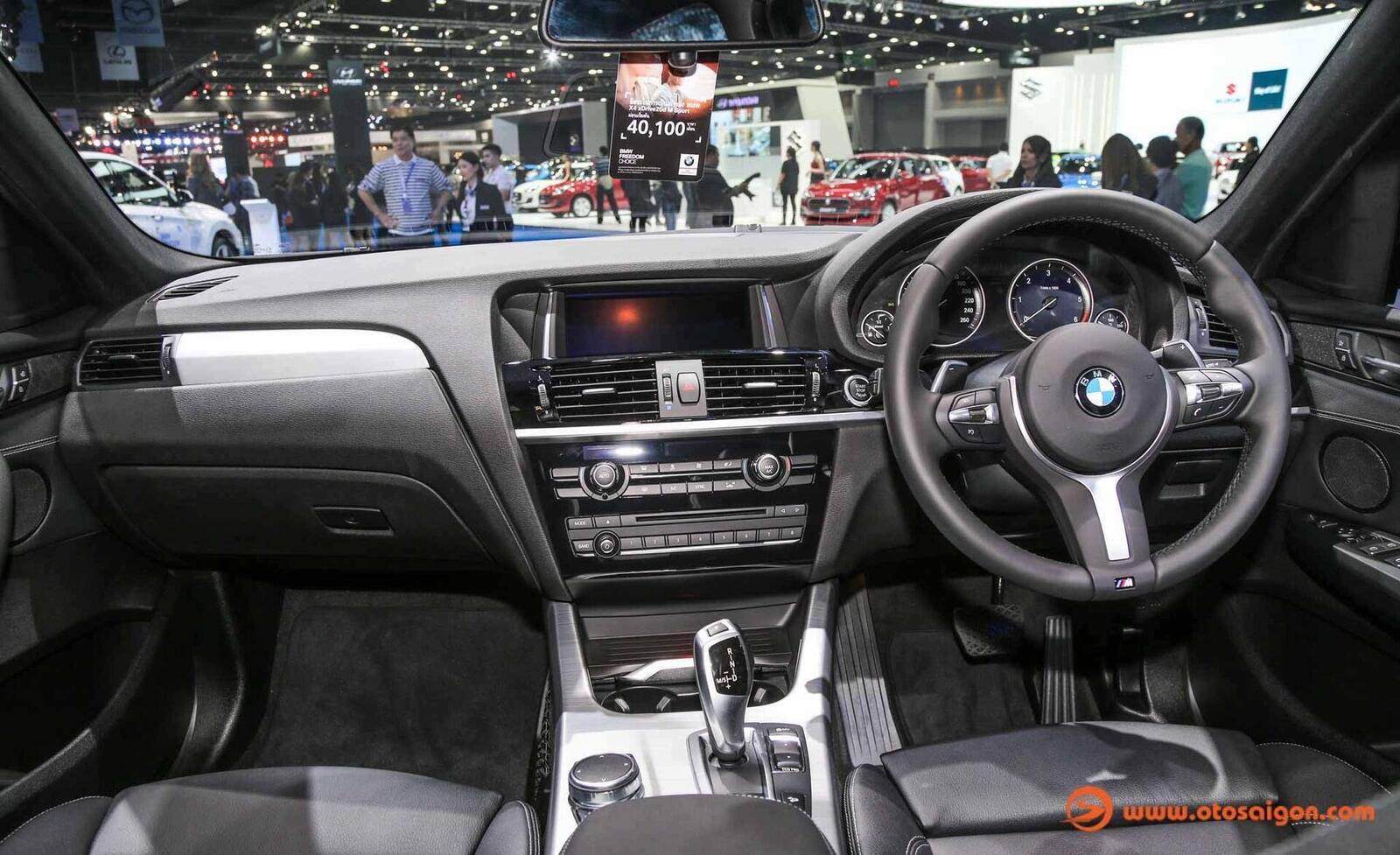 Cận cảnh BMW X4 M-Sport máy dầu 2.0L tại Bangkok - Hình 5