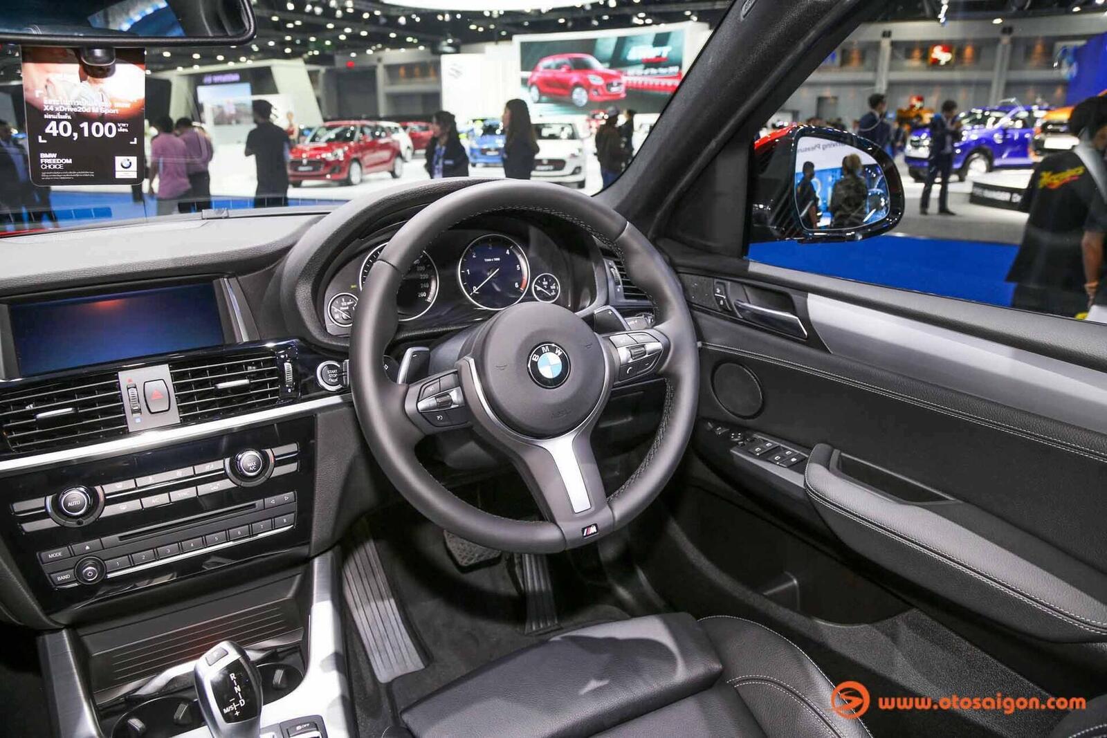 Cận cảnh BMW X4 M-Sport máy dầu 2.0L tại Bangkok - Hình 6