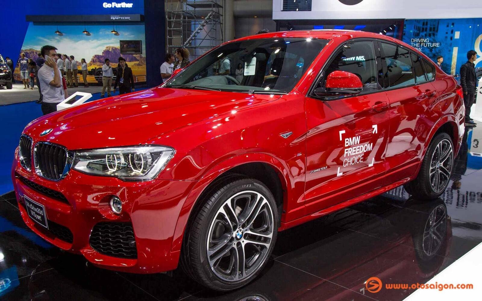 Cận cảnh BMW X4 M-Sport máy dầu 2.0L tại Bangkok - Hình 12