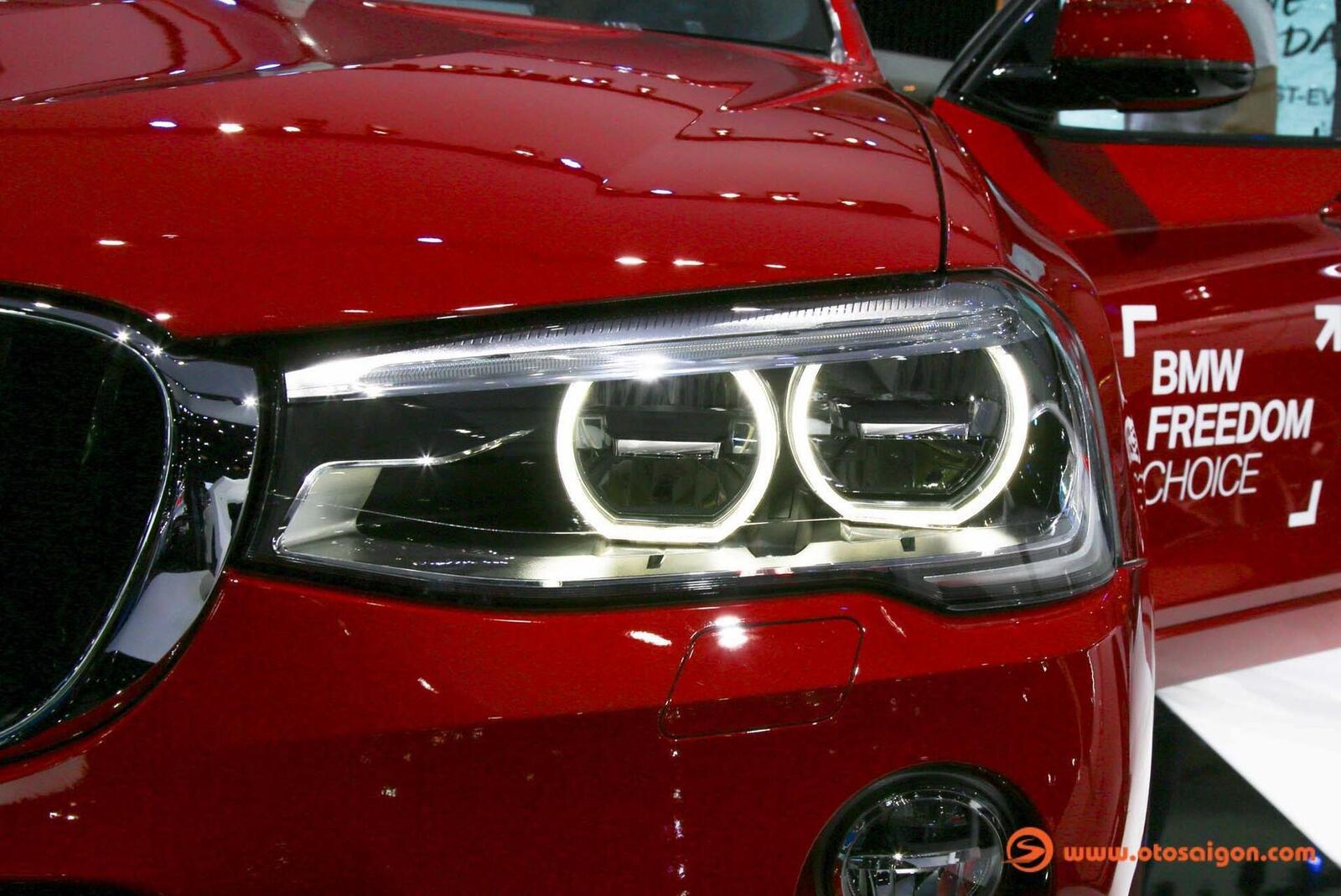 Cận cảnh BMW X4 M-Sport máy dầu 2.0L tại Bangkok - Hình 13
