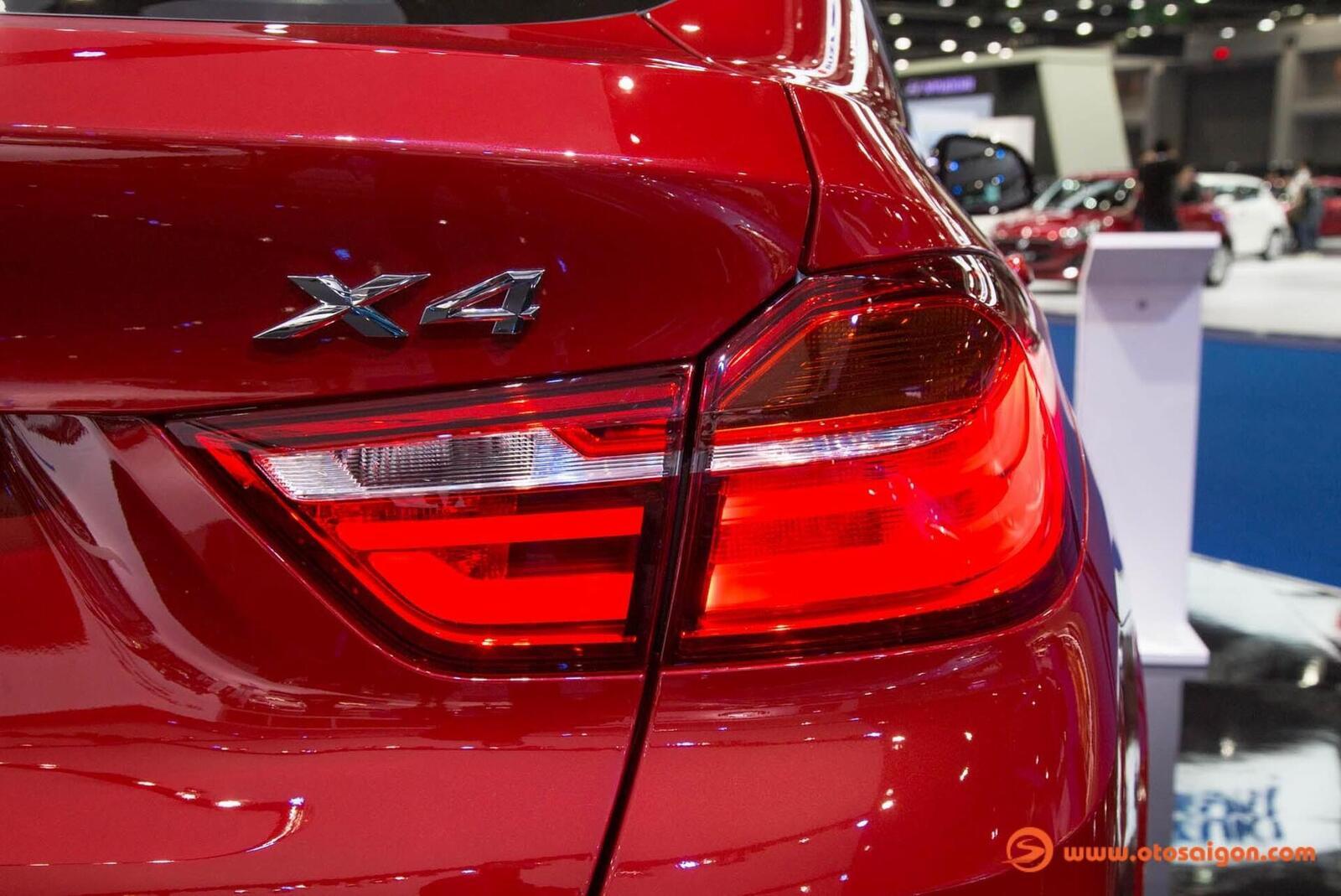 Cận cảnh BMW X4 M-Sport máy dầu 2.0L tại Bangkok - Hình 15