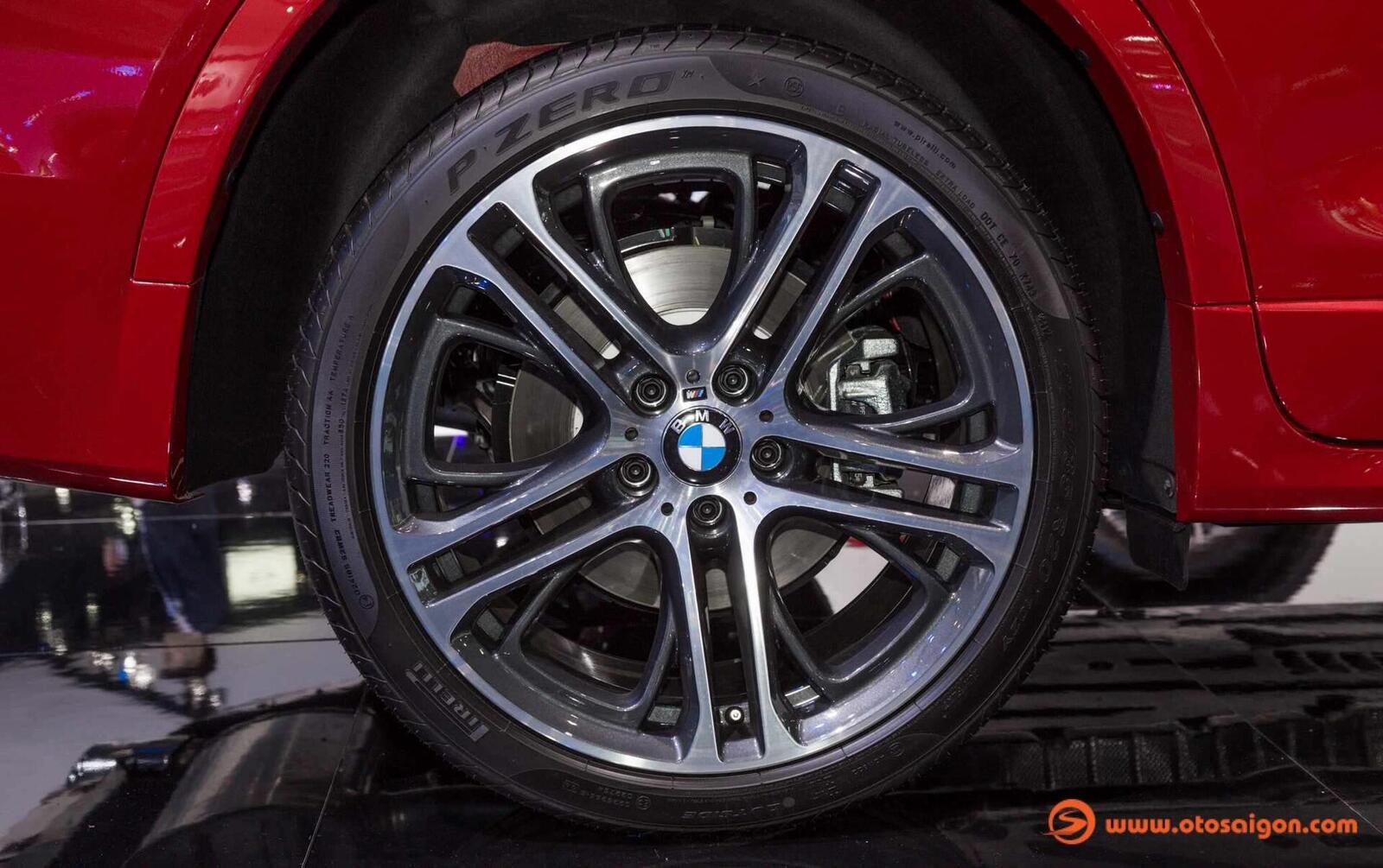 Cận cảnh BMW X4 M-Sport máy dầu 2.0L tại Bangkok - Hình 18