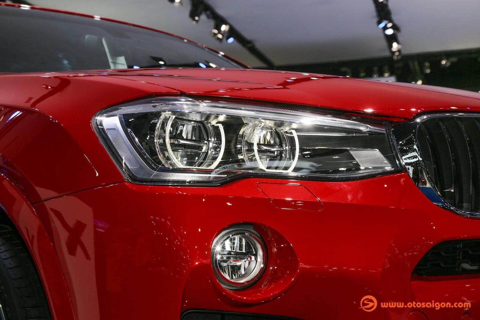 Cận cảnh BMW X4 M-Sport máy dầu 2.0L tại Bangkok - Hình 19