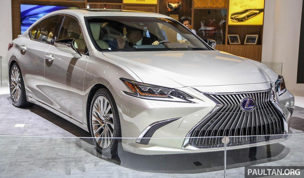Cận cảnh Lexus ES 2019 đầu tiên cập bến Đông Nam Á - Hình 1