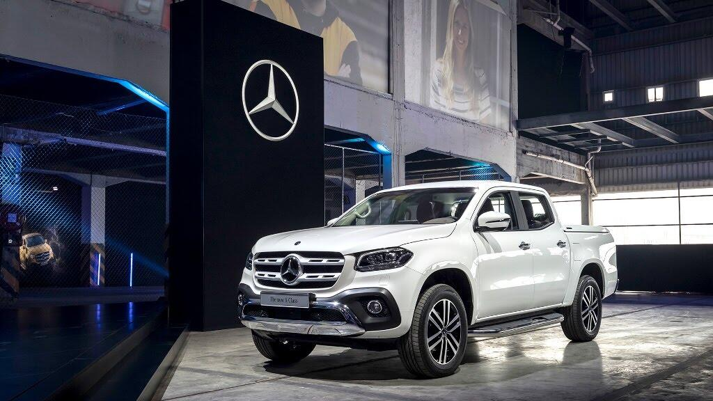 Cận cảnh Mercedes-Benz X-Class 2018 - Hình 2