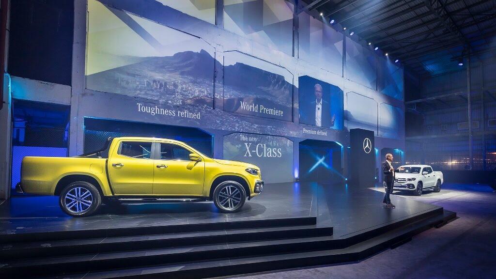 Cận cảnh Mercedes-Benz X-Class 2018 - Hình 3