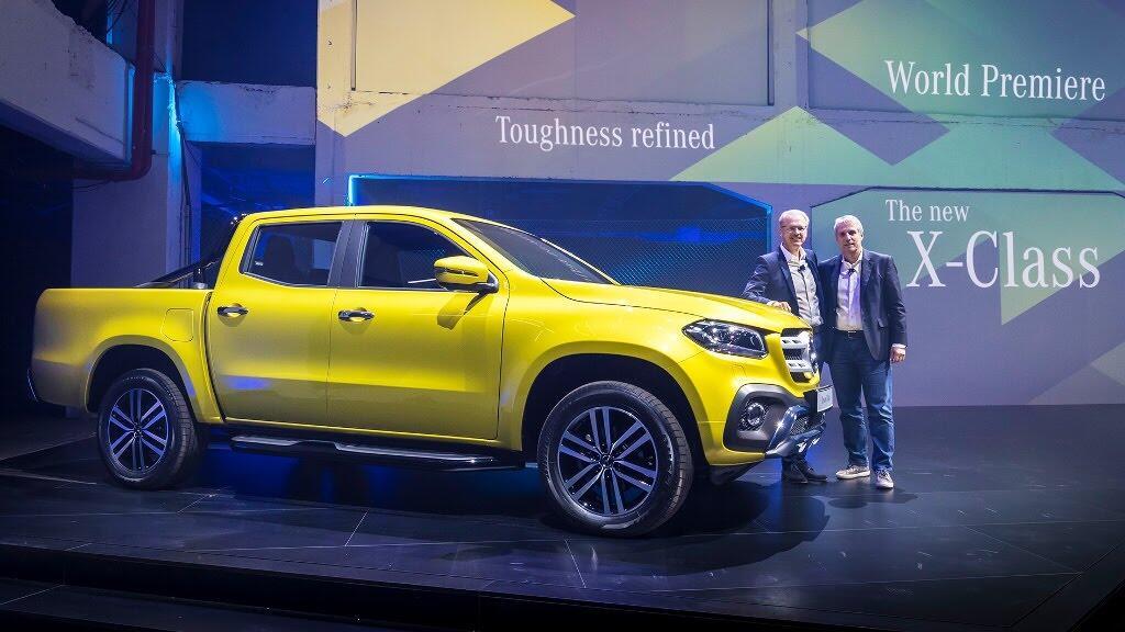 Cận cảnh Mercedes-Benz X-Class 2018 - Hình 4