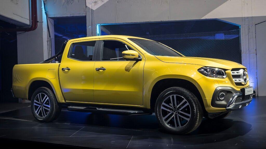 Cận cảnh Mercedes-Benz X-Class 2018 - Hình 9
