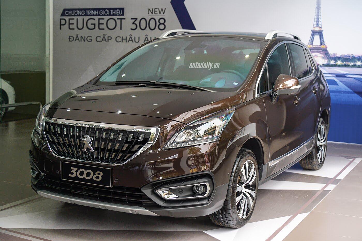 Cận cảnh Peugeot 3008 bản nâng cấp vừa ra mắt tại Việt Nam - Hình 1